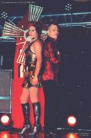 Le duo Miss Caline et Tony Parkan